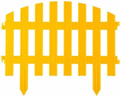 """Забор декоративный GRINDA """"АР ДЕКО"""", 28x300см, желтый/зеленый купить в Орске по низкой цене - Стройландия"""